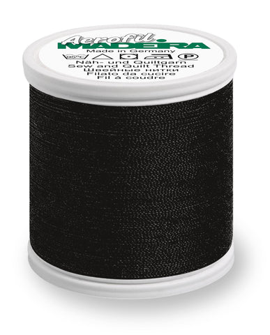 #8000 Black Aerofil No. 120 (All Purpose Thread 400m)