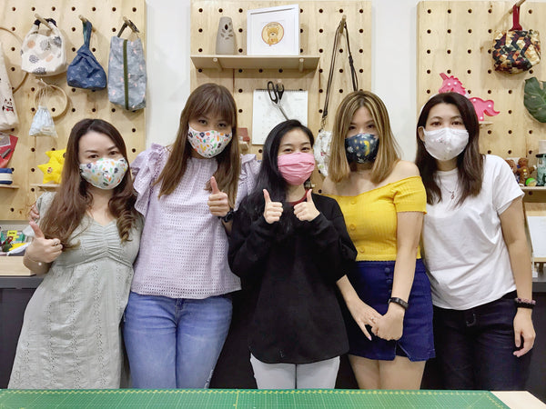 Baby Bear (Level 1) Reusable 3D Face Mask Sewing Workshop