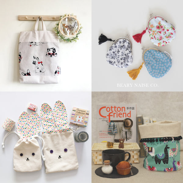Beary Naise Bag Sewing Workshops for Beginners