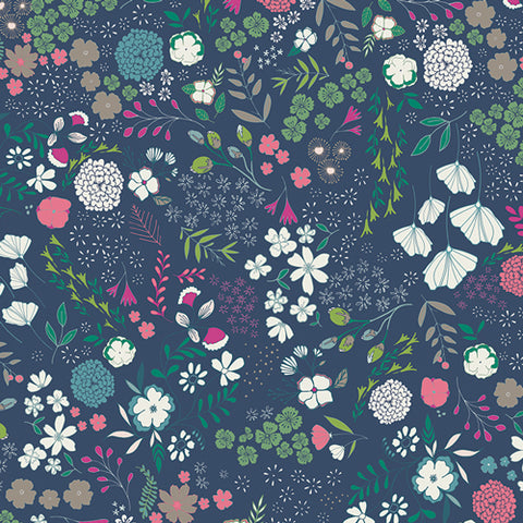 AGF Woven - Blooming Ground Luscious, Flower Child Collection
