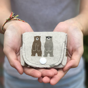 Papa Bear (Level 2) Origami Coin Pouch Sewing Workshop