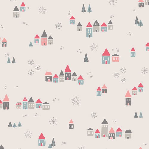 AGF Woven - Snowdrift Joy, Little Town Collection