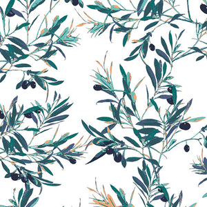 AGF Woven - Olive Foliage, Mediterraneo Collection