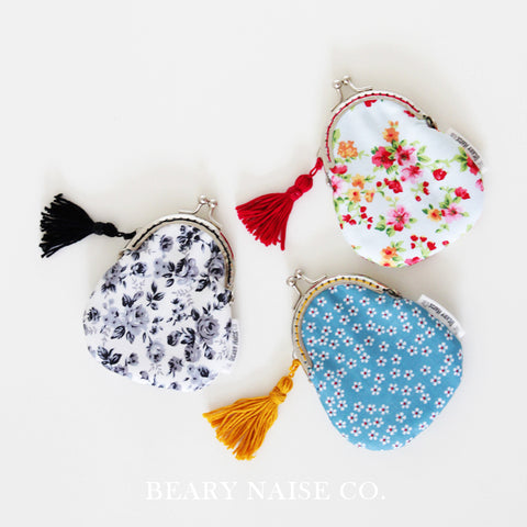 Baby Bear (Level 1) Metal Frame Coin Purse Sewing Workshop