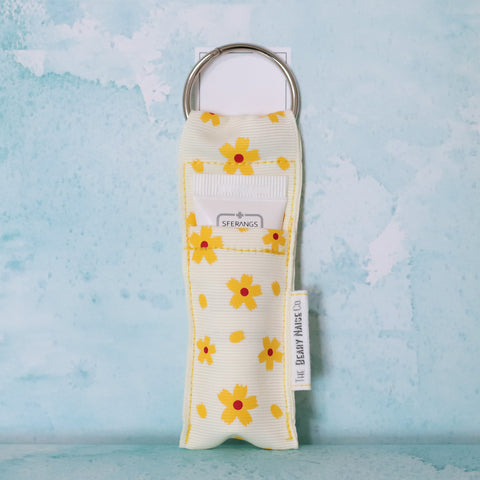 Cheerful Sunflower Lip Balm Holder