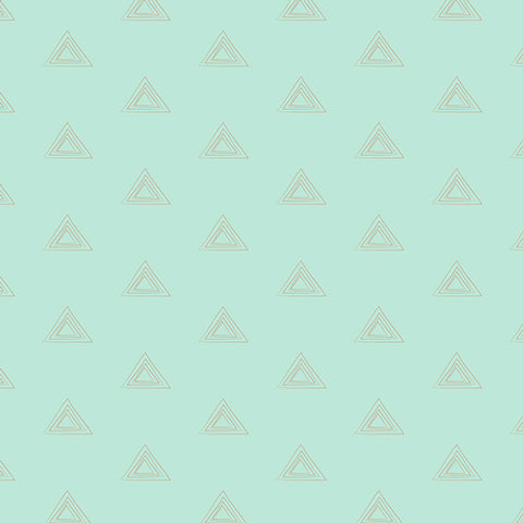 AGF Woven - Subtle Turquoise Metallic, Le Vintage Chic Collection