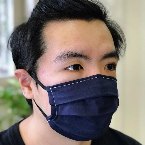 Stealth 100% Premium Cotton Fabric Mask (Pack of 4)
