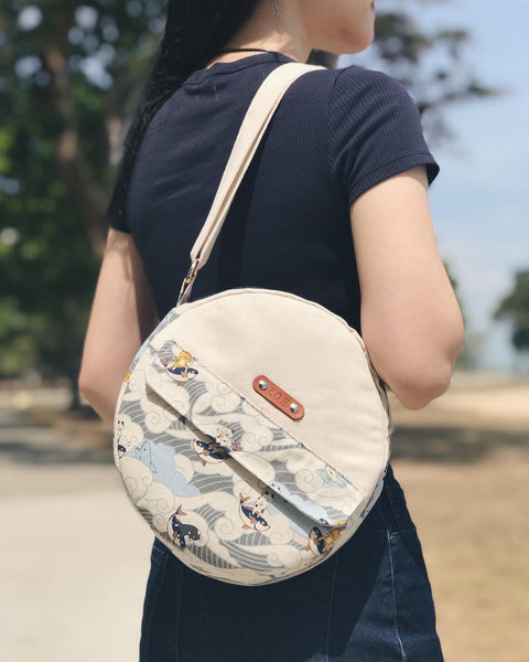 Limited Edition Luna Suede Circle Bag