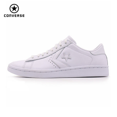 9e7fc97b092e52 2017 new original Converse Star Player Leather women s sneakers white color  Leather Skateboarding Shoes