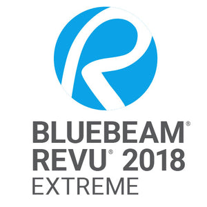BLUEBEAM REVU 2018 EXTREME BUNDLED WITH NEW MAINTENANCE & SUPPORT