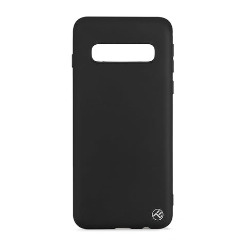 Tellur Cover Matte Silicone for Samsung Galaxy S10 Black