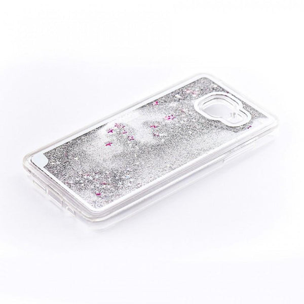 Tellur Hard Case Cover Glitter for Samsung A5 2016, White