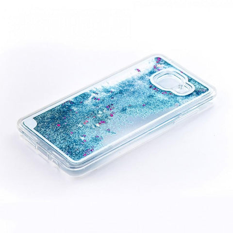 Tellur Hard Case Cover Glitter for Samsung A5 2016, Blue