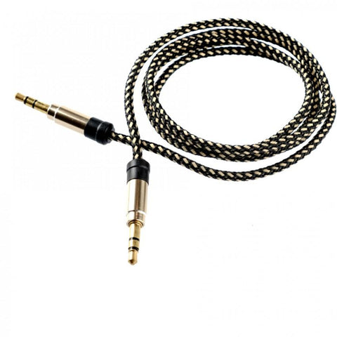 Tellur Audio Cable jack 3.5mm - Gold