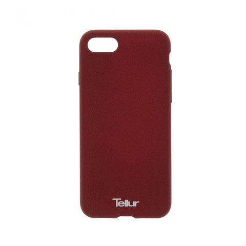 Tellur Premium Cover Pebble Touch Fusion for Apple iPhone 7/8, Red Brown
