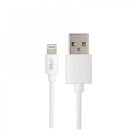 iPhone Cable Tellur USB - Lightning MFi 1m, white