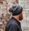 Jameson Wool Hat - Black/Grey