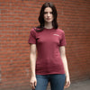 Jameson T-Shirt Ladies - Burgundy