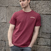 Jameson T-Shirt - Burgundy