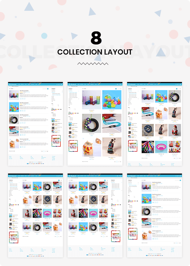Collections layout