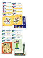 LOGICO Primo & Piccolo 15 Books & 2 Boards Bundle Set ( 15 titles of your choice + 2 boards )