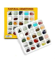 Discover Science Gemstones/ Crystals Display Box