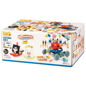 LaQ Basic 801 - 42 Models, 1800 Pieces - Dreampiece Educational Store