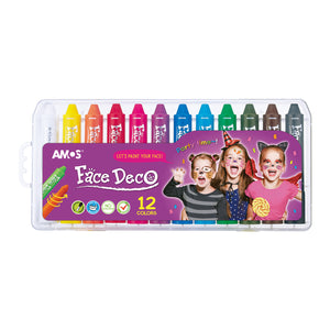 Amos Face Deco/ Body Art 12 Colours