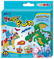 Amos Finger Fun - Knight & Dragon