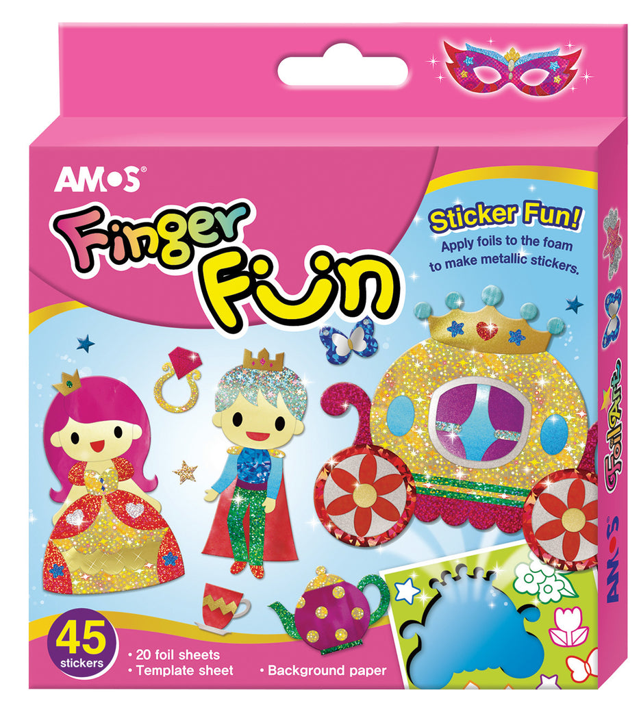 amos finger fun party in castle dreampiece educational store