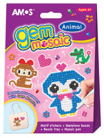 Amos Gem Mosaics- Animals