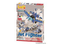 LaQ Hamacron Constructor JET FIGHTER - 5 Models, 190 Pieces