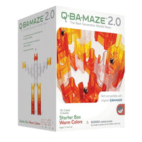 Mindware - Q-Ba-Maze 2.0 Starter Box with Warm Colours