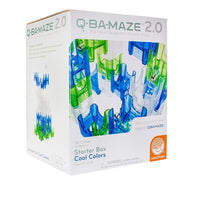 Mindware - Q-Ba-Maze 2.0 Starter Box with Cool Colours