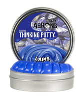 "Crazy Aaron's - Lapis 2"" tin Electric Thinking Putty"