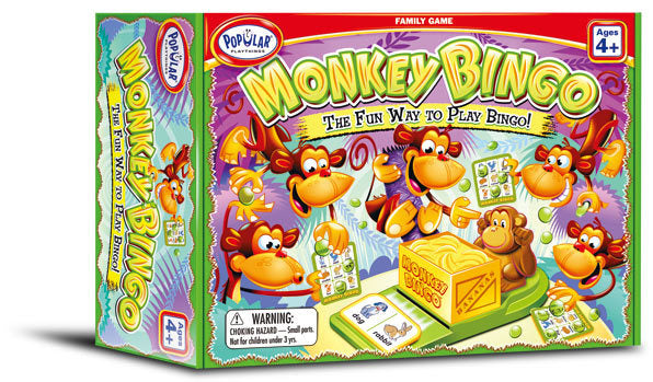 Popular Playthings - Monkey Bingo - Dreampiece Educational Store