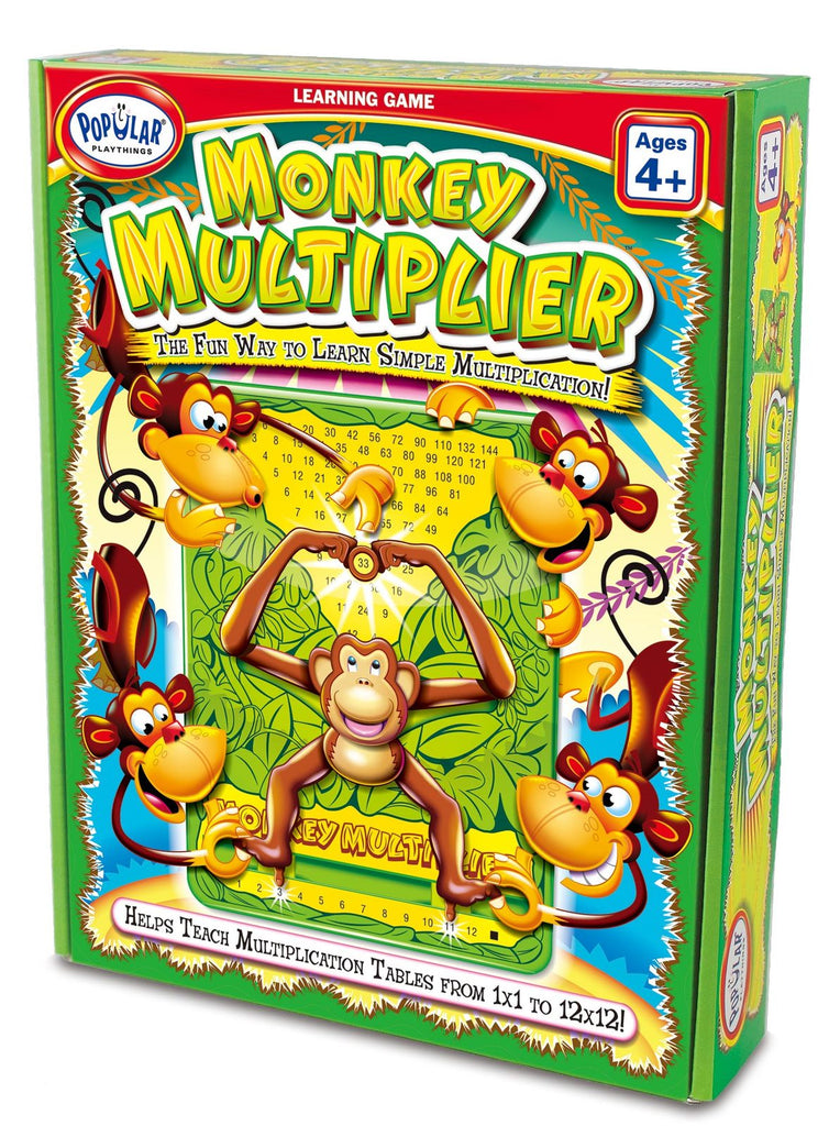 Popular Playthings - Monkey Multiplier - Dreampiece Educational Store