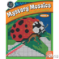 Mindware Colour By Numbers - Mystery Mosaic Book 4