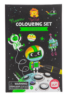 Tiger Tribe - Neon Colouring Set: Outer Space