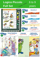 LOGICO Piccolo - Complete Package: 8 titles and 1 board (6+)