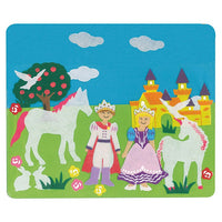 Princess Castle Felt Creations 36 Pieces