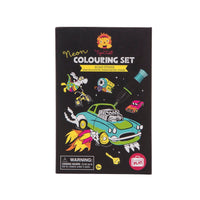 Tiger Tribe - Neon Colouring Set: Road Stars