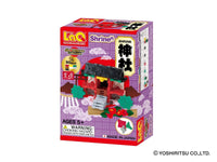 LaQ Japanese Collection - Shrine (3 Models, 90 Pieces)