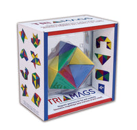 Popular Playthings - Tri Mags 24 Pcs Geometry Set