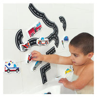 Edushape TubFun - Magic Creations: Traffic Fun (w/ Storage Net)