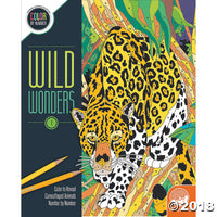 Mindware Colour By Numbers - Wild Wonders 1