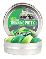"Crazy Aaron's - Chameleon Hypercolour Thinking Putty 2"" tin"