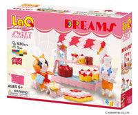 LaQ Sweet Collection DREAMS - 15 Models, 630 Pieces - Dreampiece Educational Store