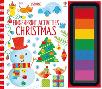 Usborne - Fingerprint Activities Christmas - Dreampiece Educational Store