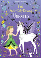 Usborne Little Sticker Dolly Dressing Unicorns
